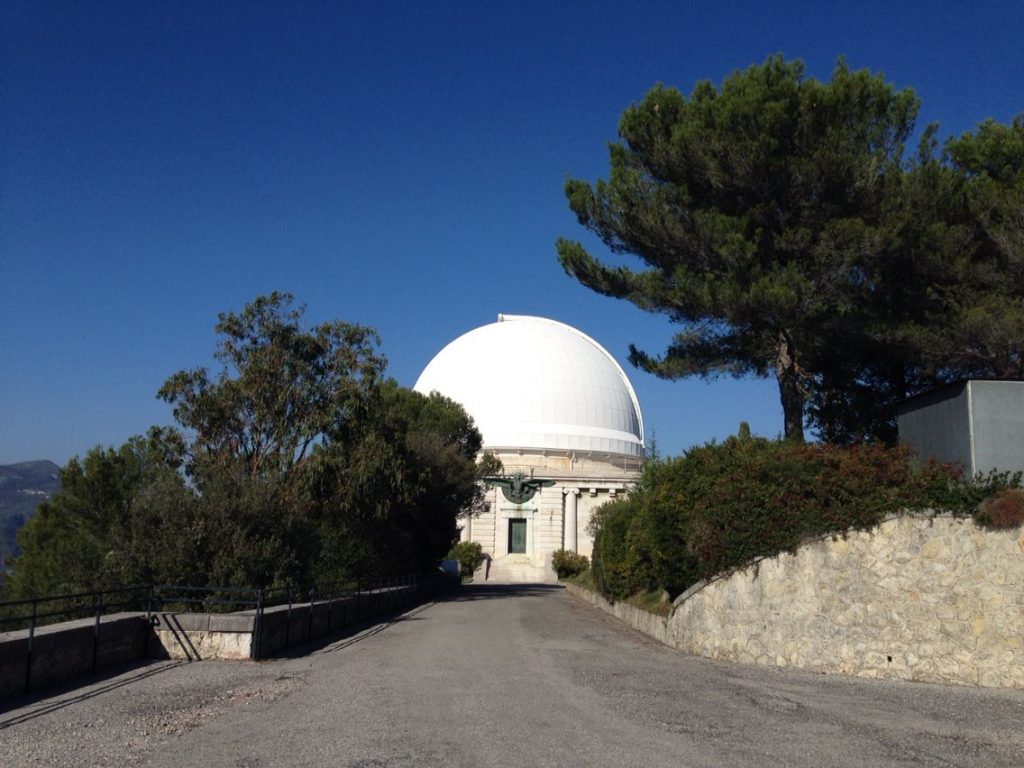 Research to The Observatoire de Nice - founded in 1879 by the banker Raphaël Bischoffsheim - 14