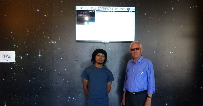 Research Trip to IAP - Institut d'Astrophysique de Paris - 43