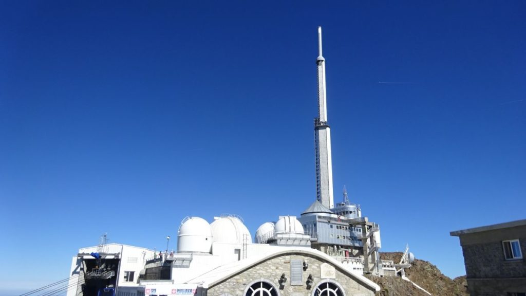 Research to Pic du Midi Observatory 12