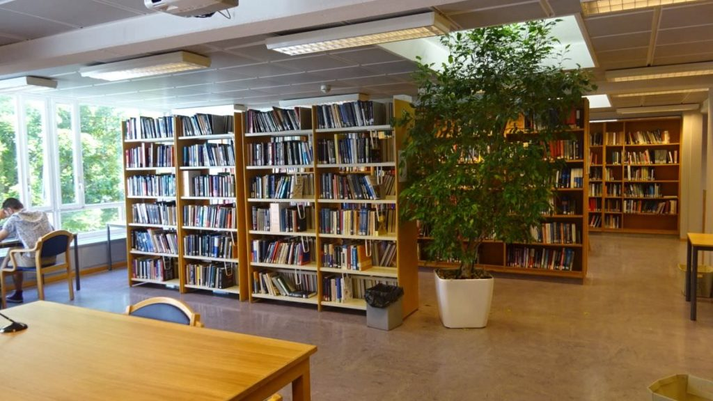visiting CERN library 25