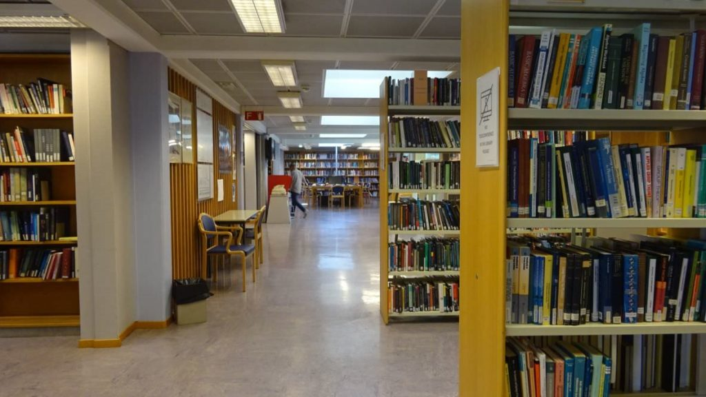 visiting CERN library 37