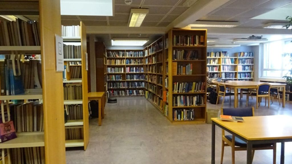 visiting CERN library 38