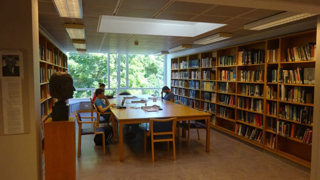 visiting CERN library 7